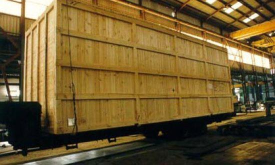 Embalaje industrial y para exportación